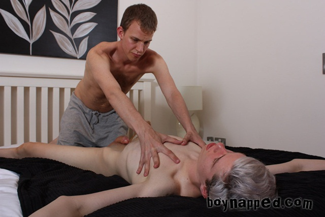 BoyNapped Full Body Massage with Gay Happy Ending Calvin Croft and Leo James 011 - Boy Napped - Calvin's Massage with Calvin Croft and Leo James