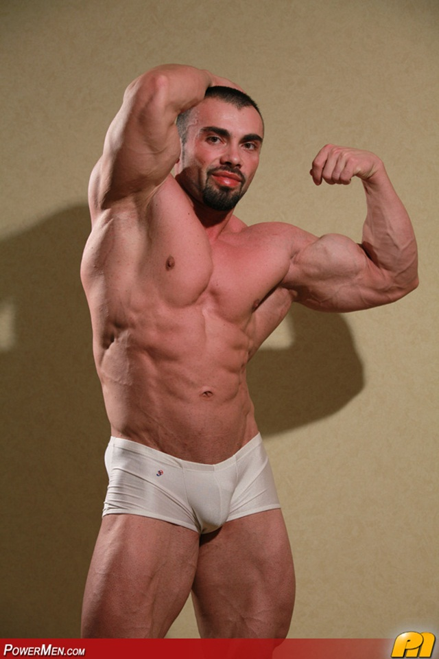 ivan Dragos Powermen Naked Muscled Bodybuilders Jerking and Shooting their Loads Stream Gay Porno Movies 021 - Powermen worlds biggest Bodybuilders now Ivan Dragos