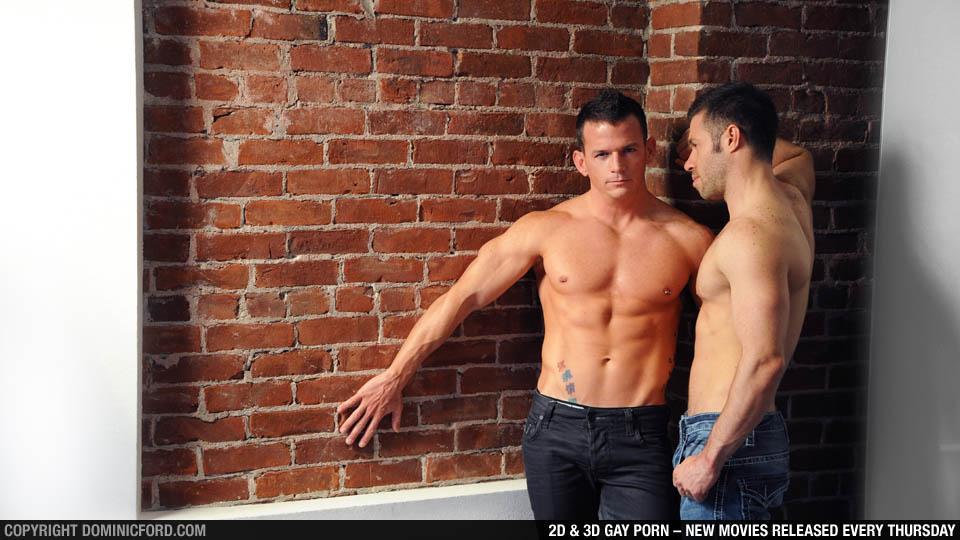 5946 - Boyfriends: Cavin Knight and Tristan Jaxx at Dominic Ford