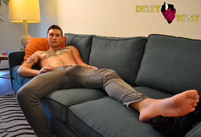 Charlie Stone Gets Dirty 1 Young nude Boy Twink Strips Naked and Strokes His Big Hard Cock photo1 - Charlie Stone Gets Dirty at Dirty Tony