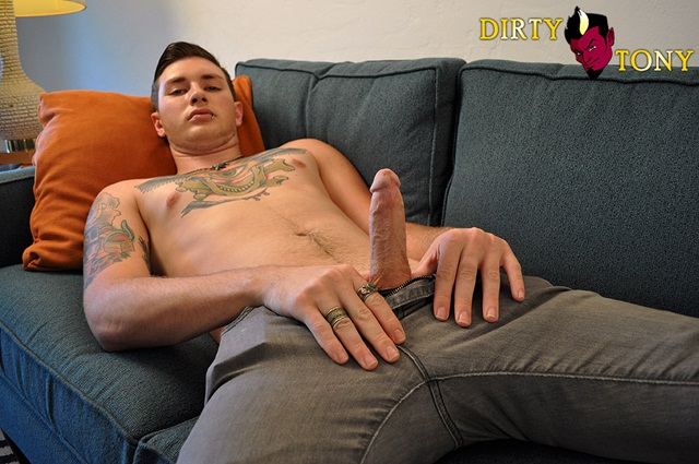 Charlie Stone Gets Dirty 2 Young nude Boy Twink Strips Naked and Strokes His Big Hard Cock photo1 - Charlie Stone Gets Dirty at Dirty Tony