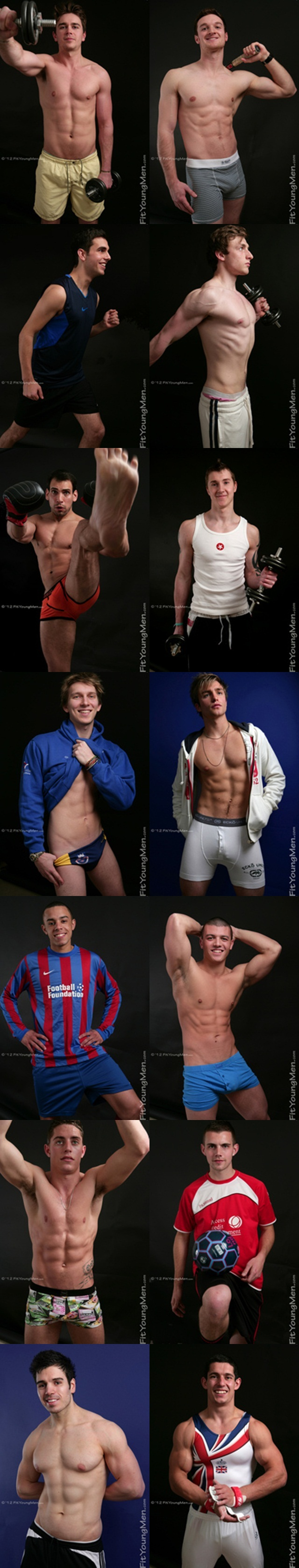 Fit young men Naked Sports Guys 1 Young nude Boy Twink Strips Naked and Strokes His Big Hard Cock photo tile - Fit Young Men - Stripped of their sports kit - Naked Athletes Gallery