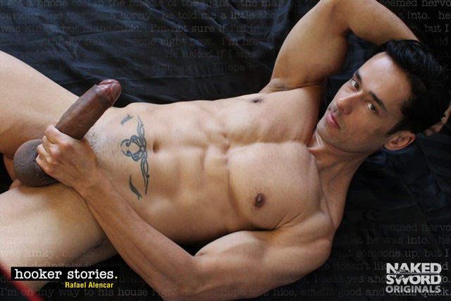 Hooker Stories Episode 1 The Professional Escort Cast Christopher Daniels Rafael Alencar at Naked Sword 2 Ripped Muscle Bodybuilder Strips Naked and Strokes His Big Hard Cock photo1 - Christopher Daniels & Rafael Alencar at Naked Sword