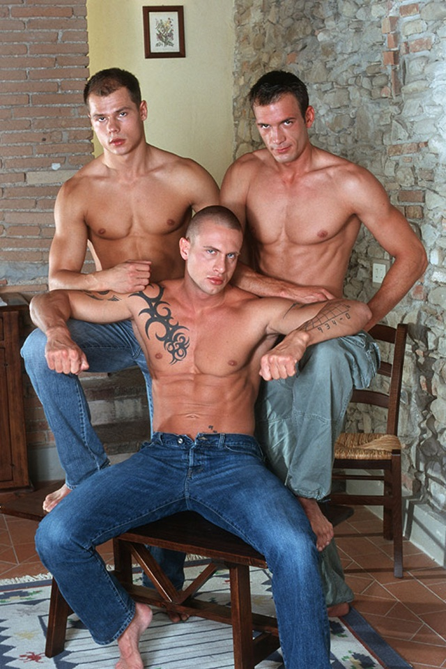 Italian stallion Max and Czech superstar Vilem hot threesome with Giorgio at Lucas Kazan 1 Ripped Muscle Bodybuilder Strips Naked and Strokes His Big Hard Cock photo1 - Italian stallion Max and Czech superstar Vilem hot threesome with Giorgio at Lucas Kazan