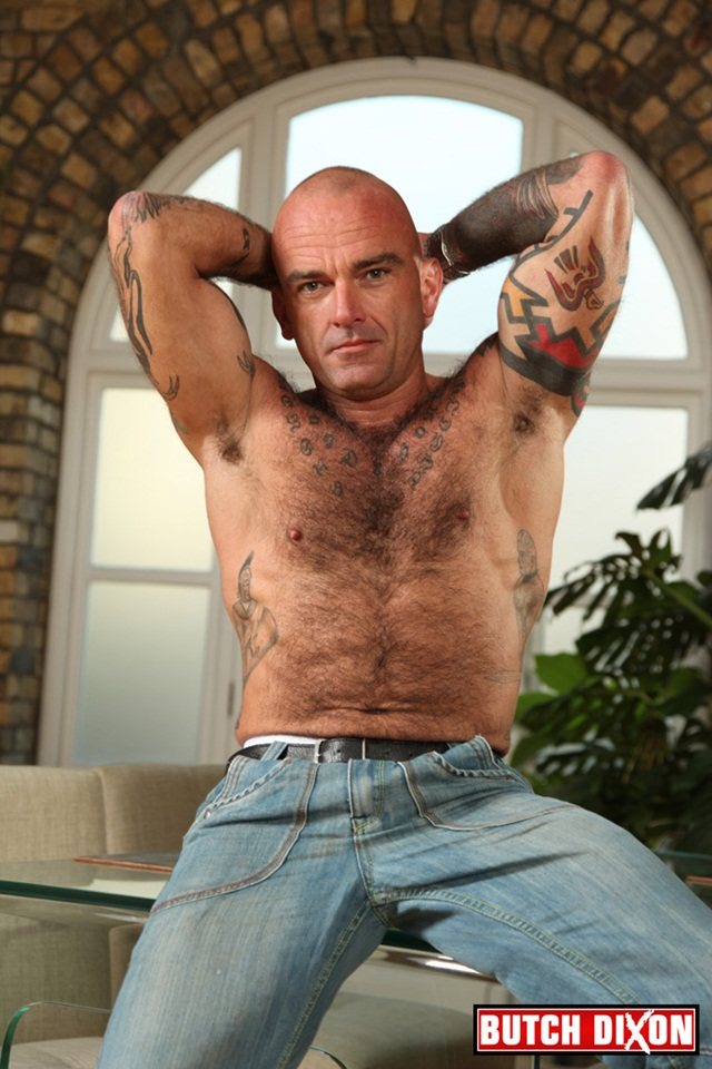 Seth Wilkins hairy muscled bi sexual macho man at Butch Dixon 2 Ripped Muscle Bodybuilder Strips Naked and Strokes His Big Hard Cock photo1 - Seth Wilkins hairy, muscled, bi-sexual macho man at Butch Dixon