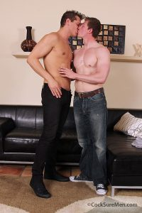 Will Parks and Parker London first time fuck at Cocksure Men 1 Young nude Boy Twink Strips Naked and Strokes His Big Hard Cock photo1 200x300 - Army man Timo drops his combo's and jerks his hard cock at Naked Marine