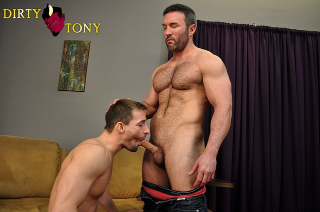 Eryk Eastman and Brock Landon at Dirty Tony 1 Ripped Muscle Bodybuilder Strips Naked and Strokes His Big Hard Cock photo image1 - Brock Landon and Eryk Eastman at Dirty Tony