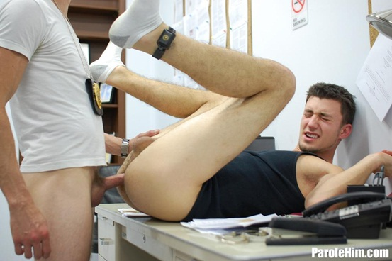Mike Covington forced into oral and anal sex with a State Parole Officer 08 Young nude Boy Twink Strips Naked and Strokes His Big Hard Cock photo1 - Mike Covington forced into oral and anal sex with a State Parole Officer