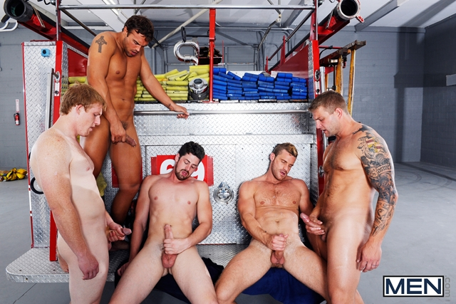 Hot naked Firemen with Rocco Reed Colby Jansen Andrew Stark Jizz Orgy 09 Ripped Muscle Bodybuilder Strips Naked and Strokes His Big Hard Cock torrent photo1 - Hot naked Firemen with Rocco Reed, Colby Jansen, Andrew Stark, Landon Conrad and Charlie Roberts