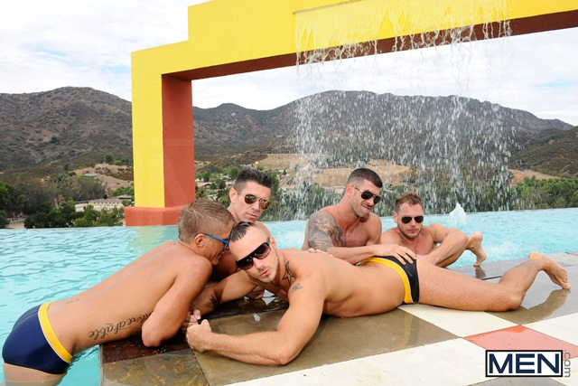 Poolside orgy with Philip Aubrey Adam Killian Jessie Colter Trenton Ducati and Hans Berlin 02 Ripped Muscle Bodybuilder Strips Naked and Strokes His Big Hard Cock torrent photo1 - Poolside orgy with Philip Aubrey, Adam Killian, Jessie Colter, Trenton Ducati and Hans Berlin