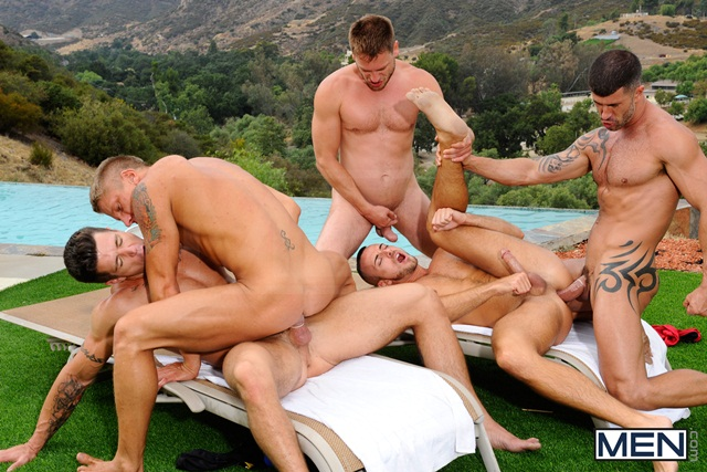 Poolside orgy with Philip Aubrey Adam Killian Jessie Colter Trenton Ducati and Hans Berlin 08 Ripped Muscle Bodybuilder Strips Naked and Strokes His Big Hard Cock torrent photo1 - Poolside orgy with Philip Aubrey, Adam Killian, Jessie Colter, Trenton Ducati and Hans Berlin
