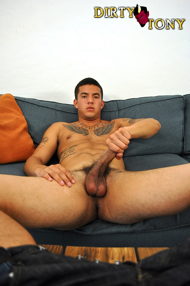 Sexy tattooed latino Joey Rico 02 Young nude Boy Twink Strips Naked and Strokes His Big Hard Cock torrent photo1 - Sexy tattooed latino Joey Rico