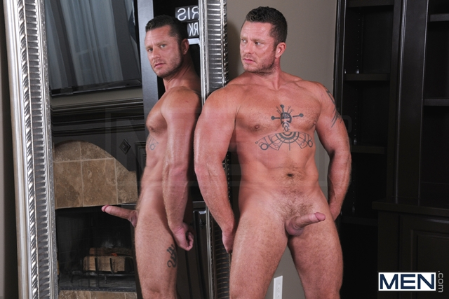 Drill My Hole Hot peeping tom Atticus Benson gets busted by Charlie Harding now hes fucked 02 Ripped Muscle Bodybuilder Strips Naked and Strokes His Big Hard Cock torrent photo1 - Drill My Hole - Hot peeping tom Atticus Benson gets busted by Charlie Harding now he's fucked