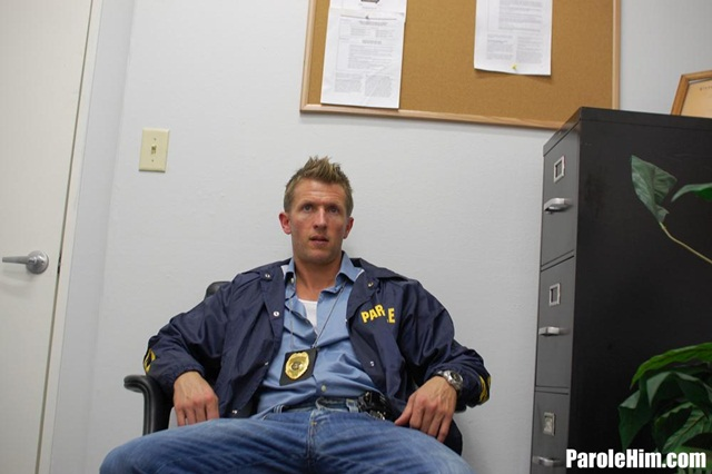 Uniform gay sex Parole Him young offender ass fucking gay porn video 01 photo - Rafeal Mendoza takes a 9 inch Parole Officer's cock - did he finally submit?