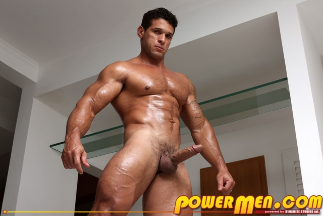 Clay Stone PowerMen nude gay porn muscle men hunks big uncut cocks tattooed ripped bodies hung 01 pics gallery tube video photo - Clay Stone
