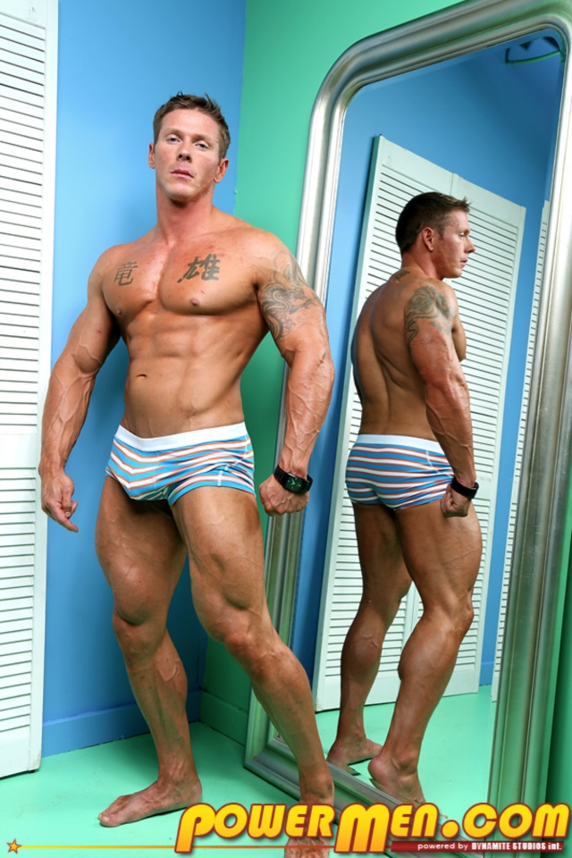 James Idols PowerMen nude gay porn muscle men hunks big uncut cocks tattooed ripped bodies hung massive naked bodybuilder 01 gallery video photo - James Idol