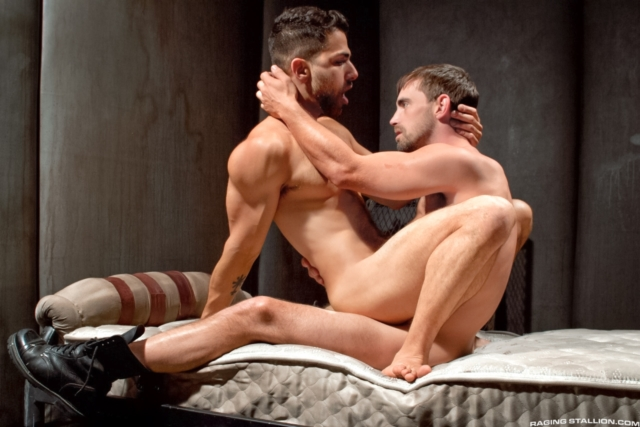 Adam Ramzi and Joe Parker Raging Stallion gay porn stars gay streaming porn movies gay video on demand gay vod premium gay sites 09 gallery video photo - Adam Ramzi and Joe Parker