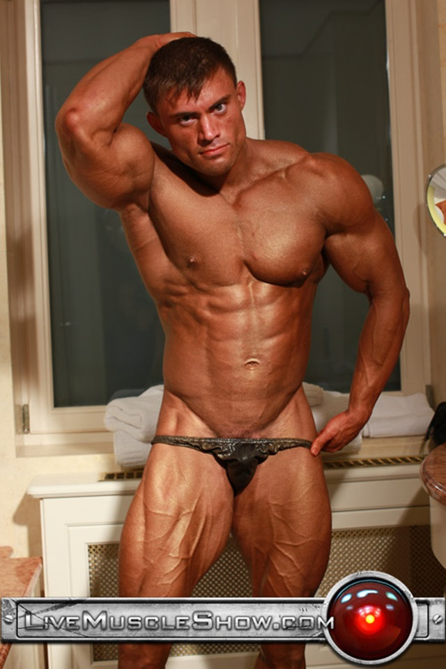 Rocky Remington Live Muscle Show Gay Porn Naked Bodybuilder nude bodybuilders gay fuck muscles big muscle men gay sex 001 gallery video photo - Rocky Remington