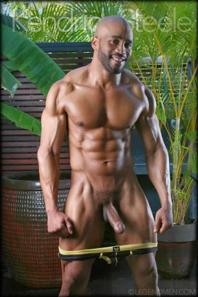 Kendrick Steele Legend Men Gay sexy naked man Porn Stars Muscle Men naked bodybuilder nude bodybuilders big muscle 002 gallery photo - Kendrick Steele