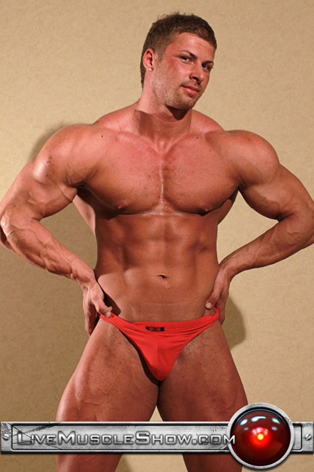 Live Muscle Show Kane Griffin muscle builder muscled hunk young abdominal muscles live webcam chat 001 male tube red tube gallery photo - Kane Griffin