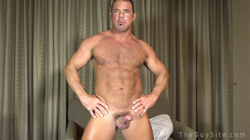 TheGuySite Mike Anders hairy muscular mature DILF Dads I like to fuck real working blue collar man 001 male tube red tube gallery photo - Mike Anders