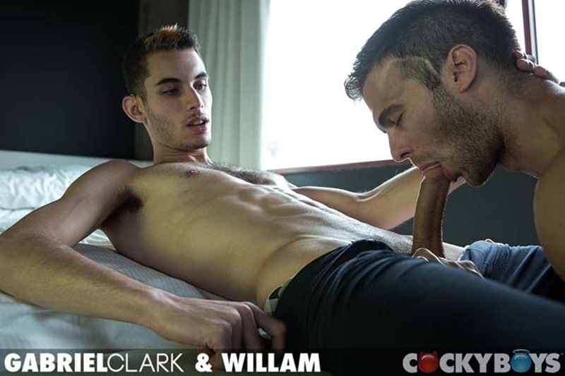 Cockyboys Willam power bottom Gabriel Clark asshole washboard abs spread legs rimming butthole anal fucking big dick boy 001 tube download torrent gallery photo - Gabriel Clark and Willam