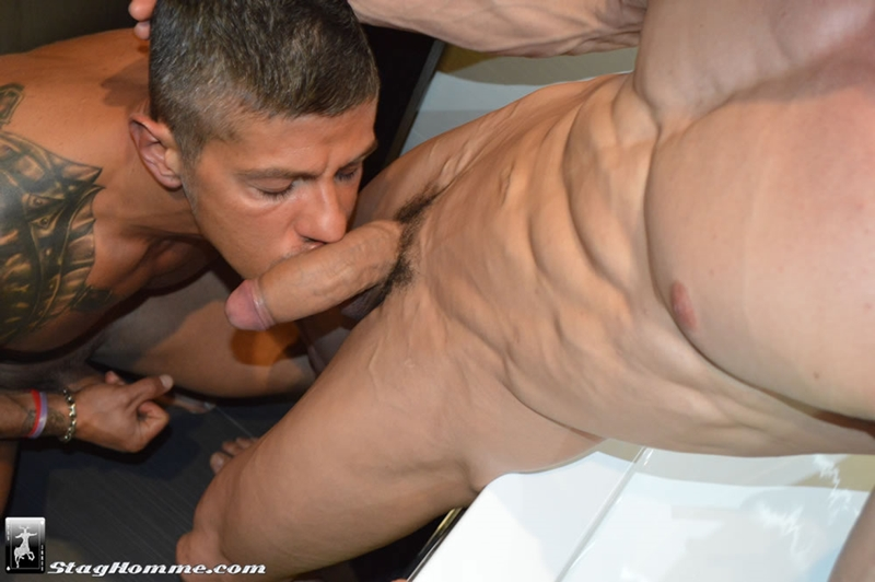 StagHomme Gabriel Vanderloo hairy Goran huge boner muscle big dick sucking manhole rimming ass fucking explode orgasm 001 tube download torrent gallery photo - Gabriel Vanderloo and Goran