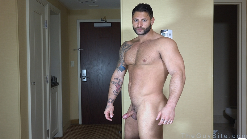 TheGuySite Mike Buffalari naked bodybuilding 29 years old big muscle hunk bigger beefier V Shaped torso huge thighs shape 001 tube download torrent gallery photo - Mike Buffalari