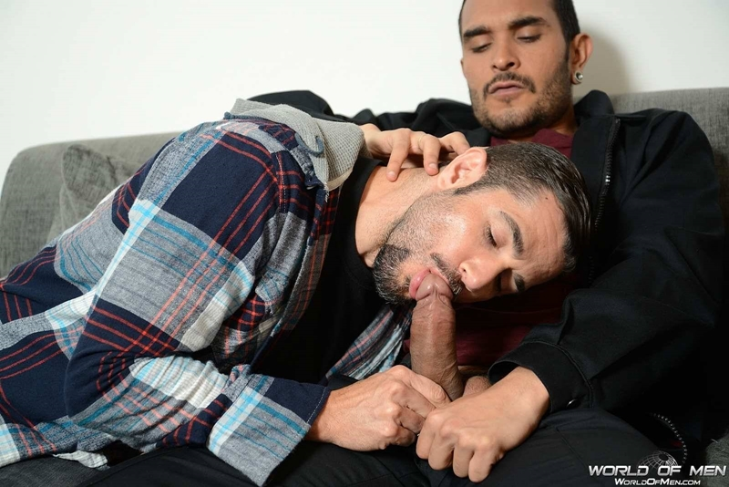WorldofMen superstar Lucio Saints Dean Monroe massive hard cock fingers tight hole fucks load thick cum balls 001 tube download torrent gallery sexpics photo - Lucio Saints and Dean Monroe
