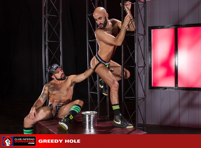 ClubInfernoDungeon hairy ass hole Boyhous Alessandro del Toro rosebud glove hand fisting hole stretching whips cock cum 001 tube video gay porn gallery sexpics photo - Alessandro Del Toro and Boyhous