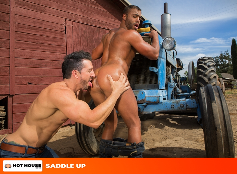 Hothouse Micah Brandt muscle man Jimmy Durano fucks blows cum load round ass anal rimming cock sucking 001 tube video gay porn gallery sexpics photo - Jimmy Durano and Micah Brandt