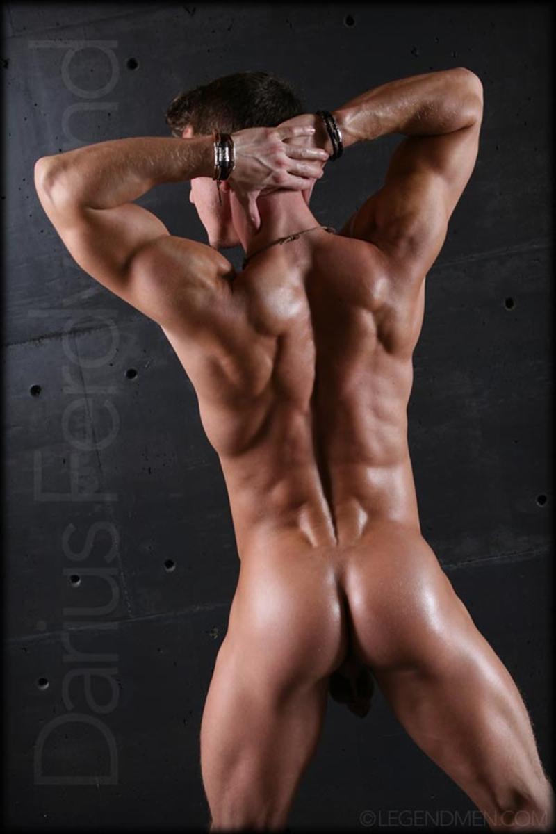 LegendMen naked muscle bodybuilder Darius Ferdynand hot bubble ass ripped abs beautiful guy massive 8 inch uncut dick 002 tube video gay porn gallery sexpics photo - Muscle naked bodybuilder Darius Ferdynand jerking uncut cock