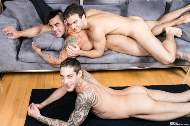MenofMontreal Gabriel Clark suck Ben Rose fucks Emilio Calabria football horny young hunks soccer naked bare asses big dicks 001 tube video gay porn gallery sexpics photo - Gay gang bang Gabriel Clark, Ben Rose & Emilio Calabria fucking