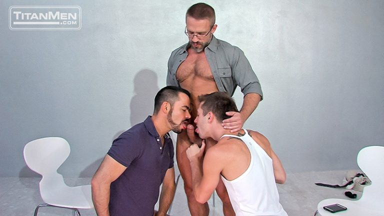 TitanMen JD Phoenix Dolan Wolfe uncut dick Dirk Caber studs beard butt hole bottom sweaty fucks hairy ass smooth chest 002 tube video gay porn gallery sexpics photo 768x432 - Dirk Caber, JD Phoenix and Dolan Wolfe
