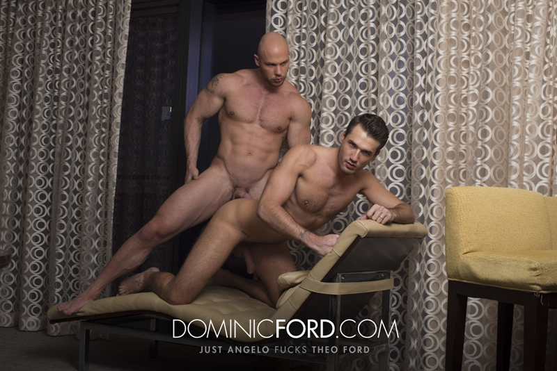 DominicFord naked men big dicks Just Angelo fucks Theo Ford tight muscular ass hole blowjob butt rimming 008 tube video gay porn gallery sexpics photo - Just Angelo fucks Theo Ford's hot ass