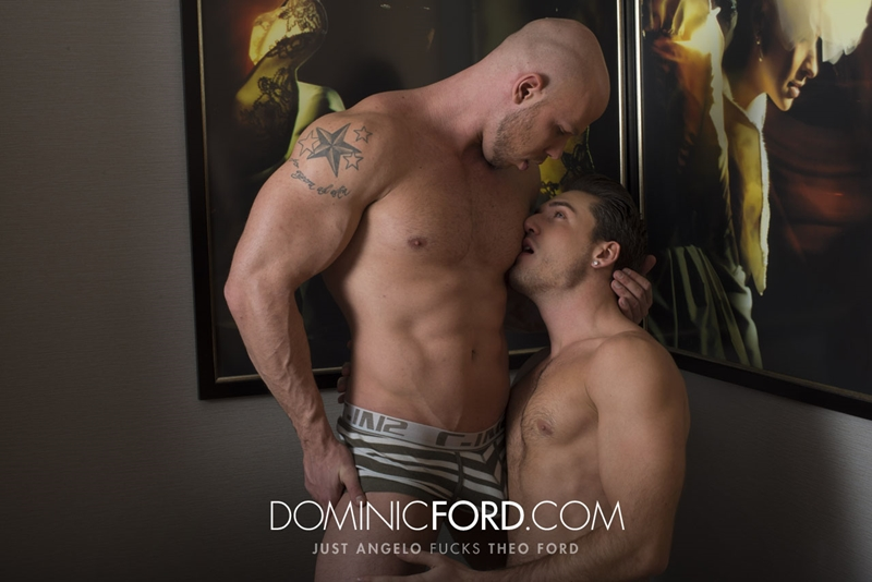 DominicFord naked men big dicks Just Angelo fucks Theo Ford tight muscular ass hole blowjob butt rimming 009 tube video gay porn gallery sexpics photo - Just Angelo fucks Theo Ford's hot ass