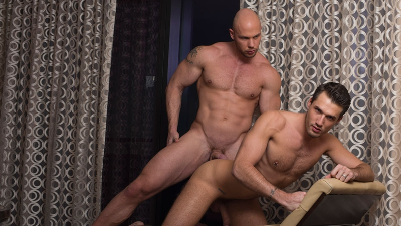 DominicFord naked men big dicks Just Angelo fucks Theo Ford tight muscular ass hole blowjob butt rimming 010 tube video gay porn gallery sexpics photo - Just Angelo fucks Theo Ford's hot ass