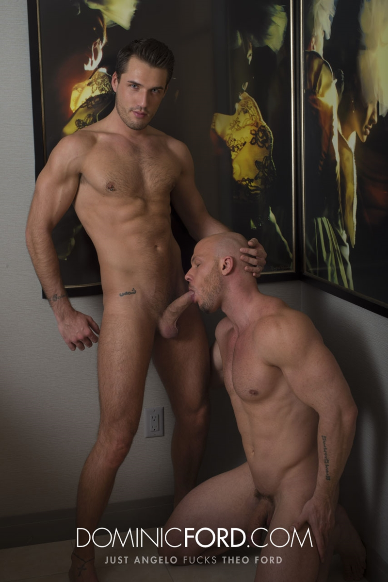 DominicFord naked men big dicks Just Angelo fucks Theo Ford tight muscular ass hole blowjob butt rimming 011 tube video gay porn gallery sexpics photo - Just Angelo fucks Theo Ford's hot ass