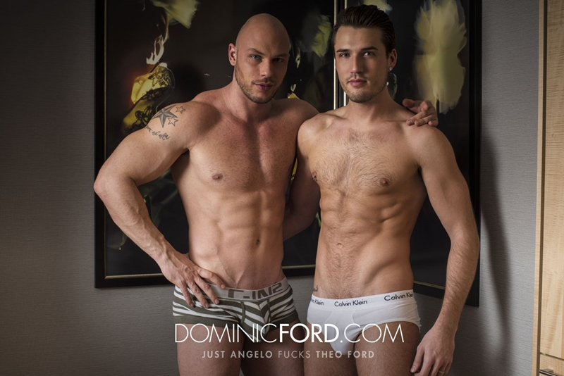 DominicFord naked men big dicks Just Angelo fucks Theo Ford tight muscular ass hole blowjob butt rimming 012 tube video gay porn gallery sexpics photo - Just Angelo fucks Theo Ford's hot ass