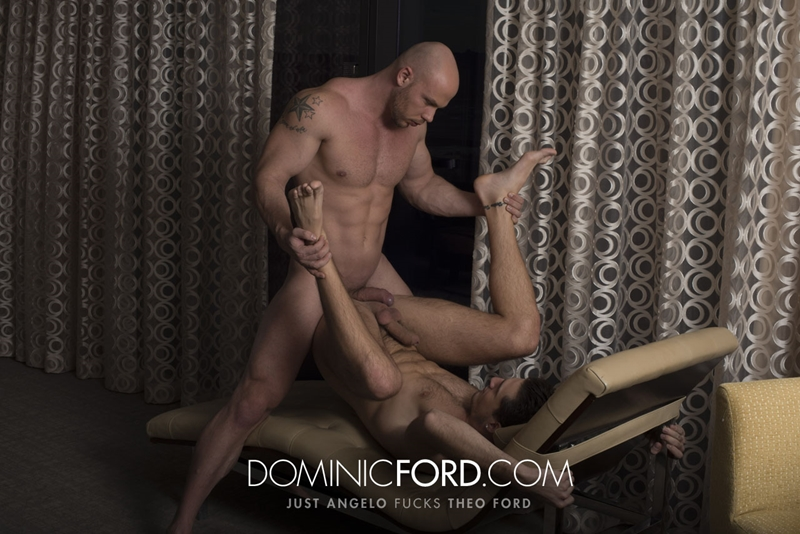DominicFord naked men big dicks Just Angelo fucks Theo Ford tight muscular ass hole blowjob butt rimming 018 tube video gay porn gallery sexpics photo - Just Angelo fucks Theo Ford's hot ass