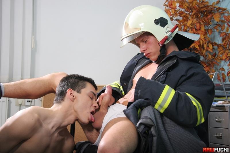 RawFuck Nico Moratti fireman Jack Moon rimming raw fucking gay bareback smooth boy butt blowjob horny young boy 001 tube video gay porn gallery sexpics photo - Nico Moratti fucked by fireman Jack Moon