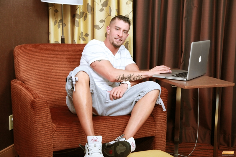 CodyCummings solo Cody Cummings feet massive gay porn star dick jerked out powerful cum shot ecstasy 001 tube video gay porn gallery sexpics photo - Cody Cummings strips off his clothes and jerks his massively thick cock