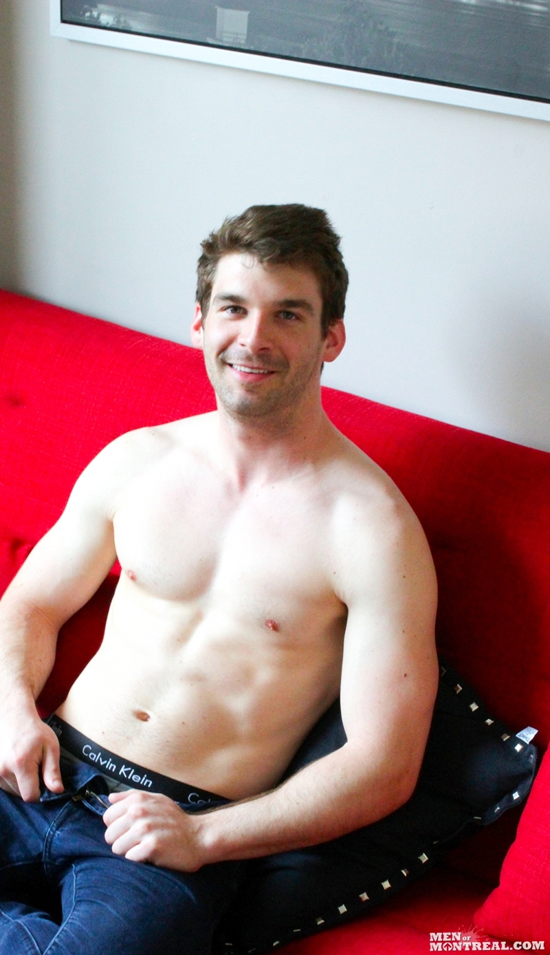 MenofMontreal Dustin Holloway gay hot dude straight guy fucked stripper six pack ripped jock top guys ass rimming cocksucking 001 gay porn video porno nude movies pics porn star sex photo - Dustin Holloway is a straight guy who loves to get his ass fucked