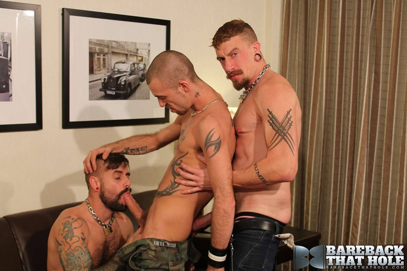 Barebackthathole naked bareback threesome fuckers Jeff Kendall Jessy Karson Jon Shield sex power bottom huge uncut cock hairy ass hole 01 gay porn star sex video gallery photo - Hardcore bareback threesome Jeff Kendall, Jessy Karson and Jon Shield