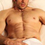 Sexy naked muscle dude Leo Giamani strips naked for Paragon Men