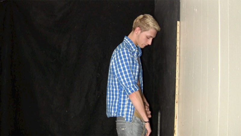 StraightFraternity naked sexy young men dude Joey suck big thick long cock Franco blindfolds glory hole cocksucker dicksucking low hanging balls 001 gay porn sex gallery pics video photo - Franco blindfolds Joey and demands that he blow a guy
