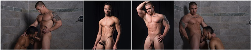 DominicFord hot naked ripped big muscle men Adam Bryant Javier Cruz huge dick fucking anal bubble butt asshole muscled dudes rimming 017 gay porn sex gallery pics video photo - Adam Bryant fucks the cum out of Javier Cruz's tight asshole