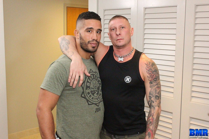 BreedMeRaw sexy tattoo naked muscle guys Tyler Griz bareback ass fucking Trey Turner hot slut hole asshole cocksucking anal rimming 002 gay porn sex gallery pics video photo - Breed Me Raw Tyler Griz really uses Trey Turner's hot and hungry slut hole