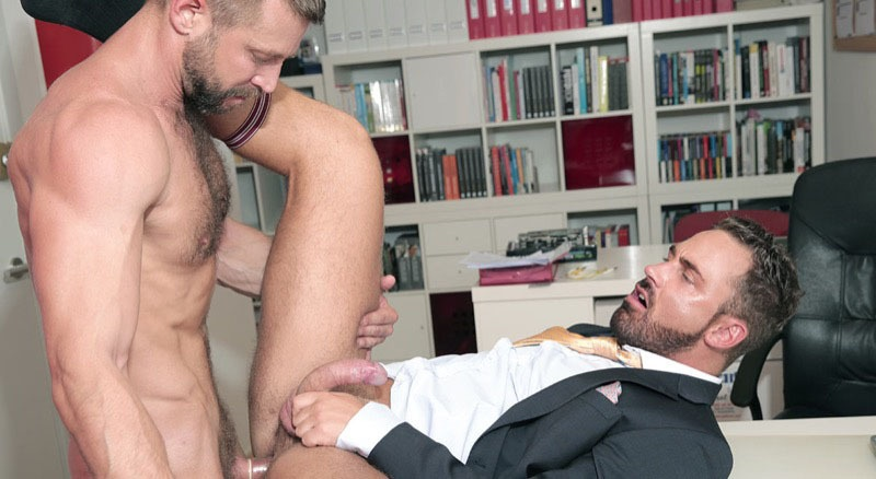 MenatPlay sexy naked beard men suit sex muscle hunks Brazen Bulrog ass fucks Logan Moore hairy dudes big thick large dicks 001 gay porn sex gallery pics video photo - Men at Play Brazen Bulrog ass fucks Logan Moore