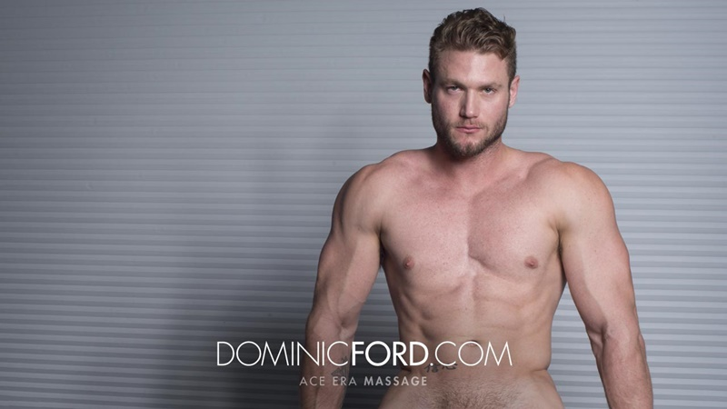 DominicFord sexy naked young muscle ripped dude Ace Era massage big thick large cock huge jizz cumshot six pack abs hairy beard 013 gay porn sex gallery pics video photo - Dominic Ford it ends with Ace Era's exploding cum shot all over his chiseled abs